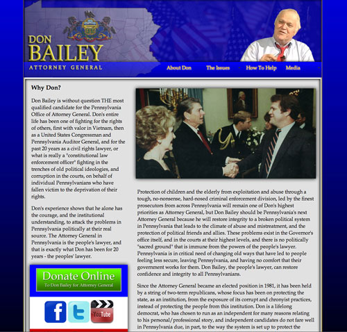 Don Bailey for Pennsylvania Attorney General