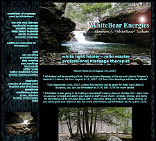 WhiteBear Energies - Professional Massage, Reiki and Alternative Health in Harrisburg, PA